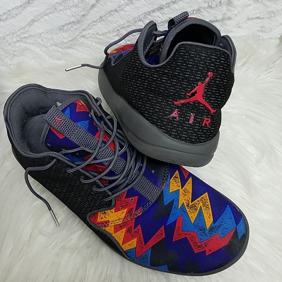 outlet store 3d238 945ca Jordan Other - AIR JORDAN LIGHT WEIGHT BLAC MULTI COLOR SNEAKERS